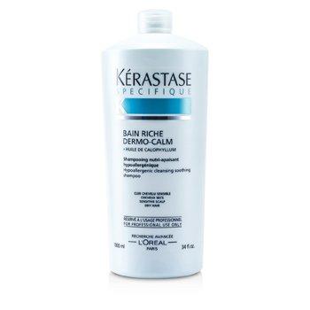 Kerastase Kerastase Dermo-Calm Bain Riche Shampoo (Sensitive Scalps & Dry Hair)  1000ml/34oz