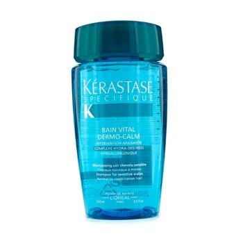 เคเรสตาส แชมพู Kerastase Dermo-Calm Bain Vital ( หนังศีรษะบอบบางและผมธรรมดาถึงผมผสม)  250ml/8oz