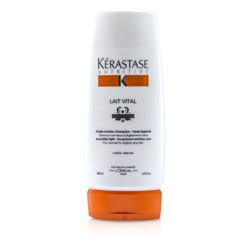 Kerastase Nutritive Lait Vital Incredibly Light Nourishing Care (For Normal to Slightly Dry Hair)  200ml/6.8oz