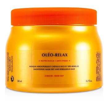 Kerastase Kerastase Nutritive Oleo-Relax Smoothing Mask ( Dry & Rebellious na Buhok )  500ml/16.7oz