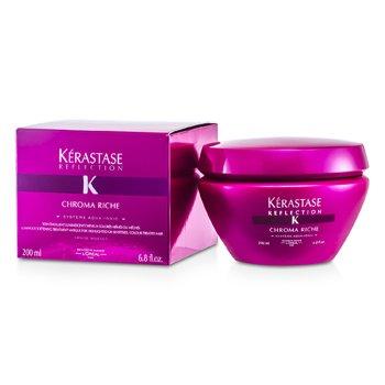 Kerastase Kerastase Reflection Chroma Riche Luminous Softening Treatment Masque ( Para sa Highlighted o Sensitised, Color-Treated Hair )  200ml/6.8oz