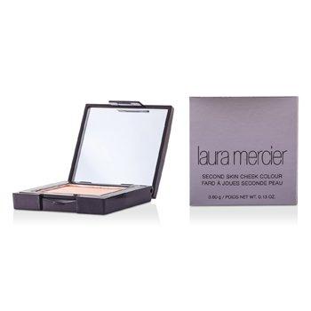 Laura Mercier Sametová pudrová tvářenka Second Skin Cheek Colour - Barely Pink  3.6g/0.13oz