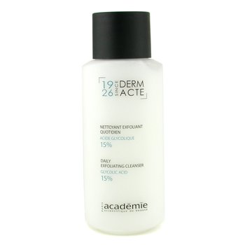 Academie Derm Acte Daily Exfoliating Cleanser - Glycolic Acid 15%  250ml/8.4oz