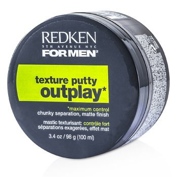 Redken Produto fixador Men Outplay Texture Putty ( Maximum Control )  100ml/3.4oz