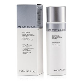 MD Formulations Facial Pembersih Muka Kulit Sensitif Formula  250ml/8.3oz