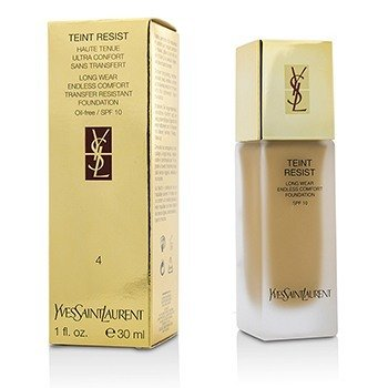 Yves Saint Laurent Teint Resist Long Wear Transfer Resistant Base MaquillajeSPF10 ( Oil Free ) - #04 Sand  30ml/1oz