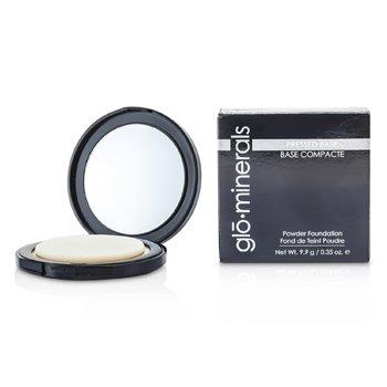 GloMinerals GloPressed Base (Powder Foundation) - Golden Medium  9.9g/0.35oz