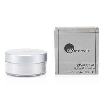 GloMinerals GloDust 24K (Highlight Powder) - Silver  9.9g/0.35oz