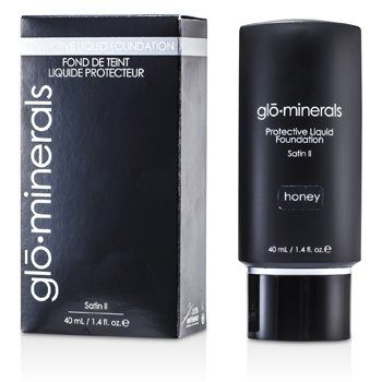 GloMinerals GloProtective Oil Free Liquid Foundation Satin Finish - Honey  40ml/1.4oz