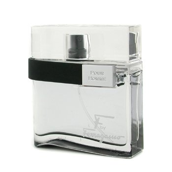 Salvatore Ferragamo F Pour Homme Black Eau De Toilette Spray  50ml/1.7oz