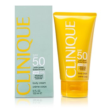 Clinique Sun SPF 50 Body Cream UVA/ UVB  150ml/5oz