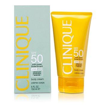 Clinique كريم للجسم واقي من الشمس والأشعة فوق البنفسجية بنوعيها (SPF50)  150ml/5oz
