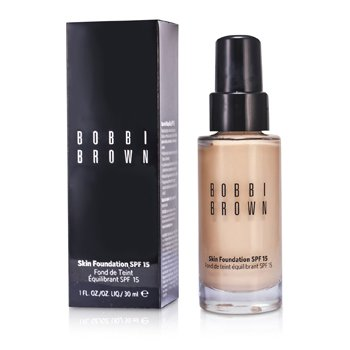 Bobbi Brown Skin Foundation SPF 15 - # 0 Porcelain  30ml/1oz