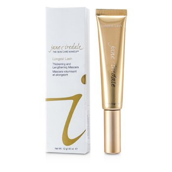 Jane Iredale Longest Lash Thickening & Lengthening Mascara - Slate Grey  12g/0.42oz