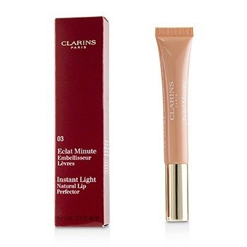 Clarins Błyszczyk Eclat Minute Instant Light Natural Lip Perfector - #03 Beige  12ml/0.35oz