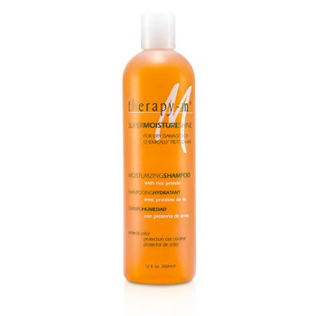 Therapy-g SuperMoistureShine Hidratante Shampoo ( For Dry, Damaged or Chemically Treated Hair )  350ml/12oz