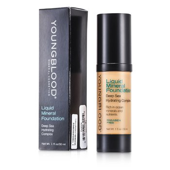 Youngblood Base Maquillaje Mineral Líquida- Pebble  30ml/1oz