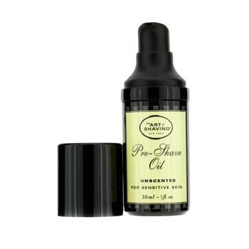The Art Of Shaving Óleo p/ antes de barbear  - s/ perfume ( tamanho viagem, Pump, P/ pele sensivel )  30ml/1oz