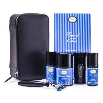 The Art Of Shaving �ش�Թ�ҧ ( Lavender ): Razor+ Shaving Brush+ Pre-Shave Oil 30ml+ Shaving Cream 45ml+ A/S Balm 30ml+ Case  5pcs+1case