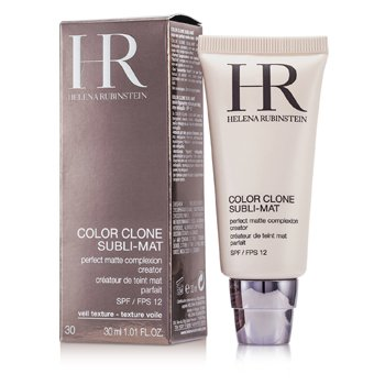 Helena Rubinstein Color Clone Subli Mat Perfect Matte Complexion Creator SPF 12 - #30 Gold Cognac  30ml/1.01oz