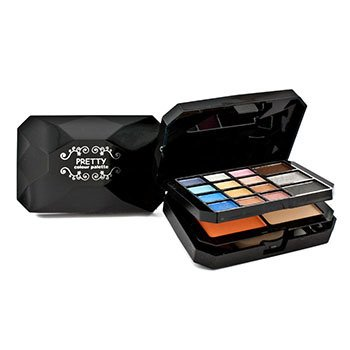 プリティー Color Palette No. M6012 (15x Eye Shadow + 1x Blush + 1x Powder + 3x Lip Color + 3x Applicator)  28g/0.98oz