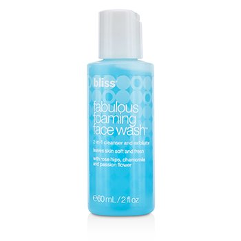 Bliss Fabulous Foaming Face Wash  60ml/2oz