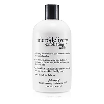 Philosophy Microdelivery Micro-Massage Jabón Exfoliante  473.1ml/16oz