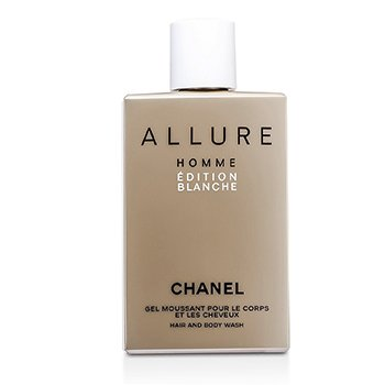 Chanel Sabonete Líquido Allure Homme Edition Blanche Hair & Body Wash (Feito nos USA)  200ml/6.8oz