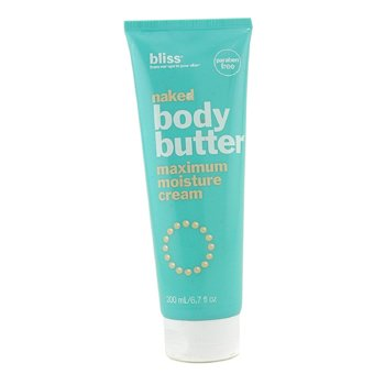 Bliss Naked Body Butter  200ml/6.7oz