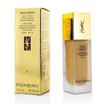 Yves Saint Laurent Base Teint Resist Long Wear Transfer Resistant  SPF10 ( S/ óleo ) - #06 Gold Beige  30ml/1oz