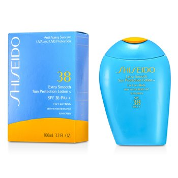 Shiseido Extra Smooth Sun Protection Lotion N SPF 38 (For Face & Body)  100ml/3.3oz