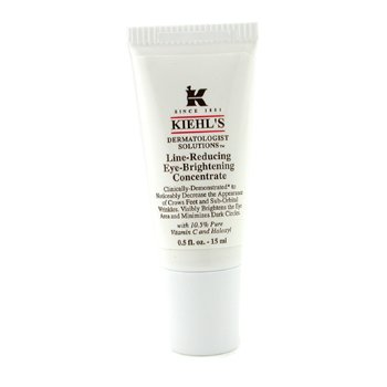 Kiehl's Dermatologist Solutions Line-Reducing Eye-Brightening Concentrate  15ml/0.5oz