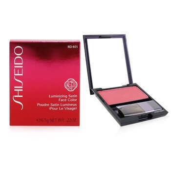 Shiseido Luminizing Satin Face Color - # RD401 Orchid  6.5g/0.22oz