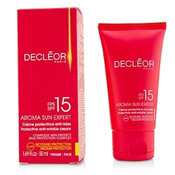 Decleor Creme antiidade Aroma Sun Expert Protective  Medium Protection SPF 15  50ml/1.69oz