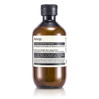 Aesop Geranium Leaf Body Cleanser  200ml/7.2oz