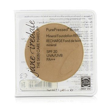 Jane Iredale PurePressed Base Pressed Mineral Powder Refill SPF 20 - Light Beige  9.9g/0.35oz