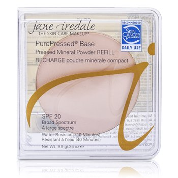 Jane Iredale PurePressed Base Pressed Mineral Powder Refill SPF 20 - Ivory  9.9g/0.35oz