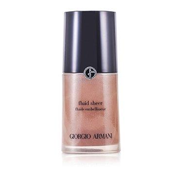 Giorgio Armani Fluid Sheer - Base Maquillaje Fluida # 3 Golden Bronze  30ml/1oz