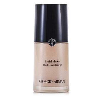 Giorgio Armani Fluid Sheer - Base Maquillaje Fluida # 7 Pale Shimmering Rose  30ml/1oz