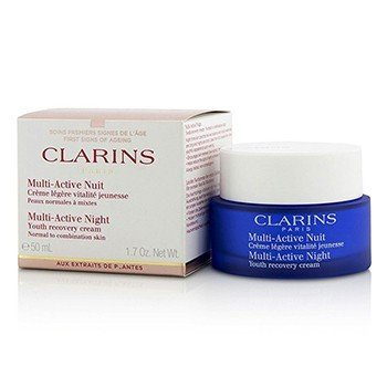 Clarins Multi-Active Night Youth Recovery Cream (Normal to Combination Skin)  50ml/1.7oz