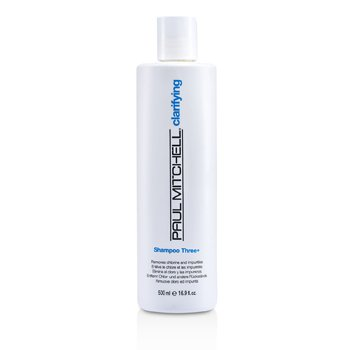 Paul Mitchell Champú Three ( Elimina el Cloro e Impurezas )  500ml/16.9oz
