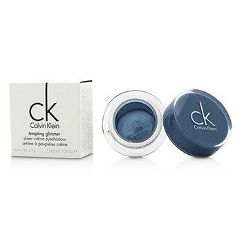 Calvin Klein อายแชโดว์เนื้อครีม Tempting Glimmer - #311 Turquoise Blue  2.5g/0.08oz