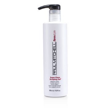 Paul Mitchell Super Clean Gel Esculpidor ( Control Máximo )  500ml/16.9oz