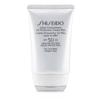 Shiseido Urban Environment UV Protection Cream Plus SPF 50 ( Para sa  Mukha & Katawan )  50ml/1.8oz