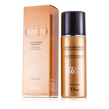 Christian Dior Dior Bronze Voile De Monoi Tan Enhancer Medium Protection - Protecci�n Bronceadora Estimulante SPF10 UVA  200ml/6.7oz