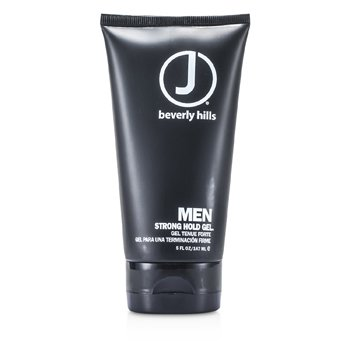 J Beverly Hills Men Strong Hold Gel  147ml/5oz