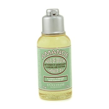 L'Occitane Almond Cleansing & Soothing Shower Oil (Travel Size)  75ml/2.5oz