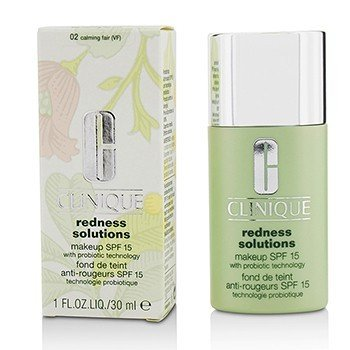 Clinique Redness Solutions Makeup SPF 15 - # 02 Calming Fair  30ml/1oz
