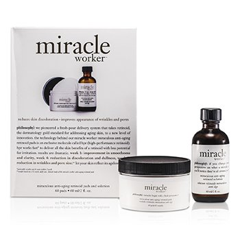 Philosophy Miracle Worker: Solución 60ml/2oz + Toallitas 60pads  60pads