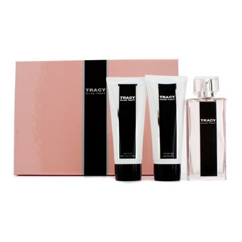 Ellen Tracy Tracy Coffret: Eau De Parfum Spray 75ml/2.5oz + Loção Corporal 100ml/3.4oz +  Gel de Banho 100ml/3.4oz  3pcs